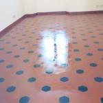 pavimento trattato lucido